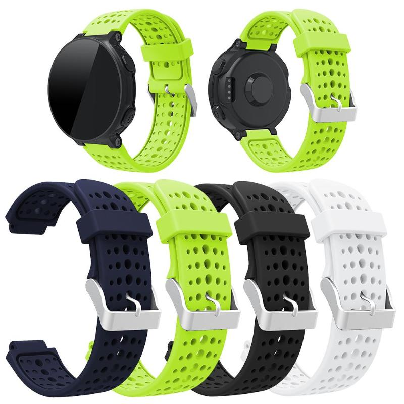 VODOOL Silicone Sport Watchband Strap Belt Practical Comfortable Moderate Softness For Garmin Forerunner 220 230 235 620 630 New