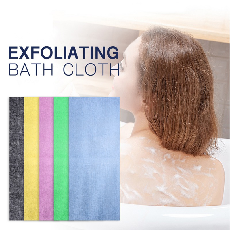 Nylon Mesh Bath Cloth Exfoliating Bath Shower Body Washing Clean Scrubbing Towel Cloth Scrubber Soap Bubble For The Bath