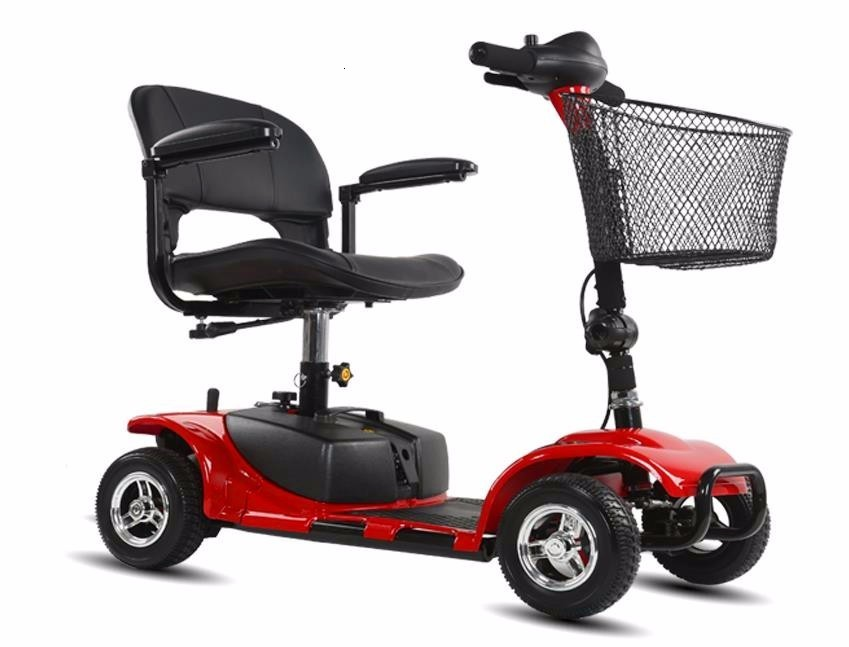 Electric Scooter For Elderly Four Wheels Electric Scooters 8 Inch 24V 250W Electric Kick Scooter For AdultsDisabled (13)