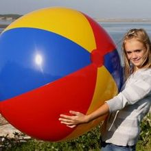 Best Gift 6ft Giant Beach Ball Inflatable Beach Ball Pool Toy
