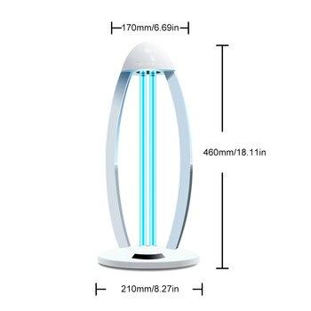Efficient UV Lamp Desktop Uv Light Sterilizer Germicidal Lamp Sterilization Desklamp With Ozone фото