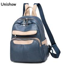 PU Leather Backpack Women Brand Designer Female Backpack Solid Zipper Travel Backpack Small Mochila Mujer Girl School Bags(China)