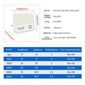 Image 5 - Led フラッドライト 30 ワット 50 ワット 100 ワット 200 ワット投光器ハニカム Led ライト屋外防水 IP66 Led リフレクター中庭正方形