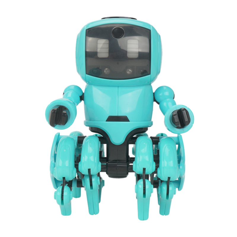Robot Toy For Kids, DIY Assembly Smart Robot Kids Gift , Gesture Sensing, Following And Obstacle Avoidance Mode