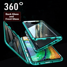 360 Full Protection Case For Huawei Mate 30 Pro Cover Magnetic Aluminum Metal Bumber 20