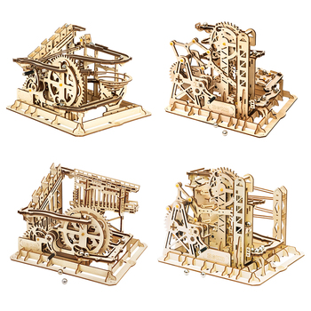 Robotime ROKR Blocks Marble Race Run Maze Balls Track DIY 3D Wooden Puzzle Coaster Model Building Kits Toys for Drop Shipping - discount item  45% OFF Building & Construction Toys
