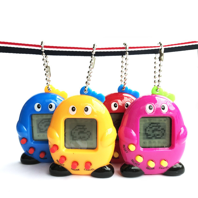 Тамагочи электронные игрушки подарочные брелки на домашние животные игрушки, подарок на Рождество, образовательные увлекательные 90S Носта...