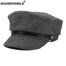 Newsboy Cap Hat Beret British-Style Baker Boy Vintage Winter Women Autumn Femme-Accessories