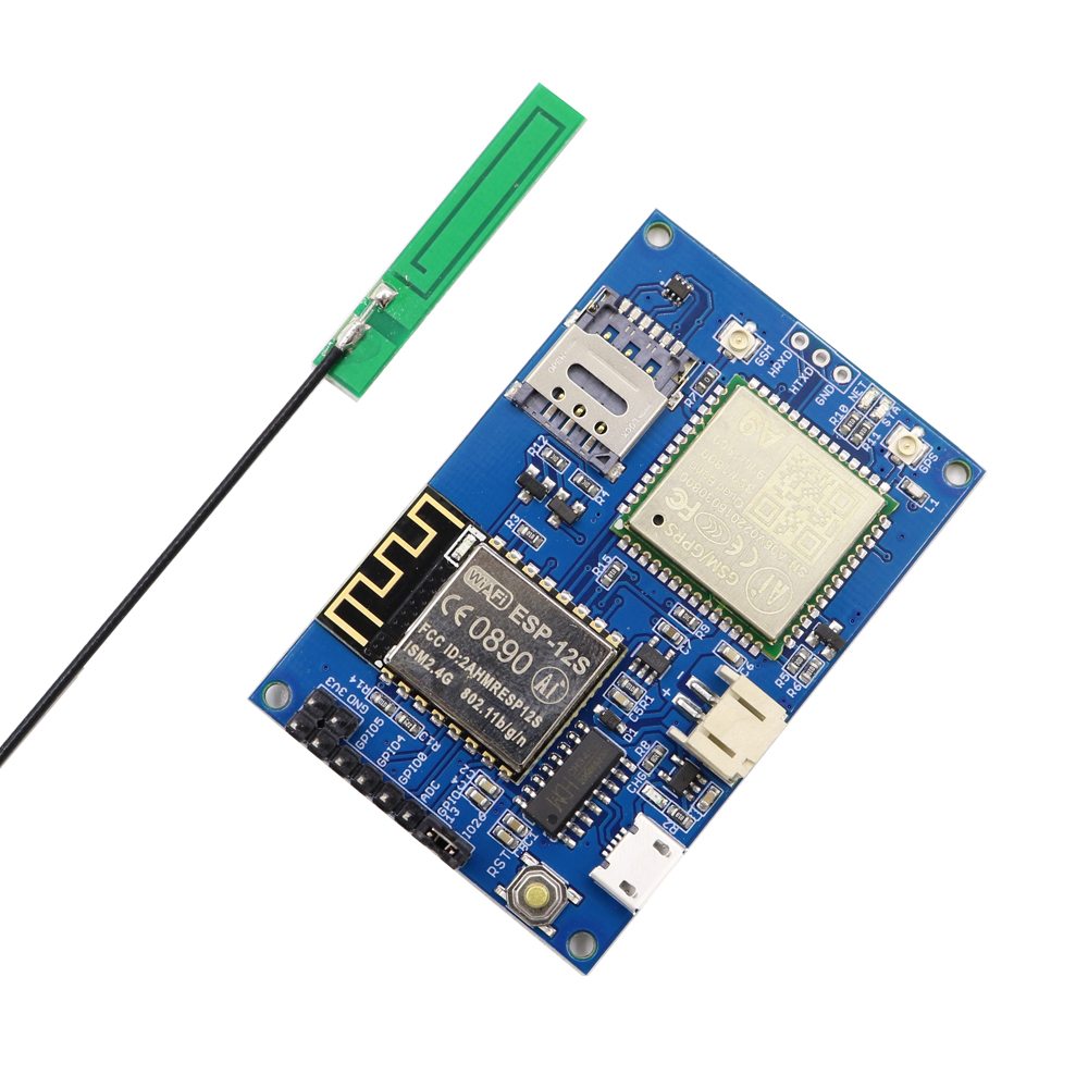 ESP8266 ESP-12S A9 GSM GPRS IOT Node IOT Development Board With All In One WiFi With GSM GPRS Antenna
