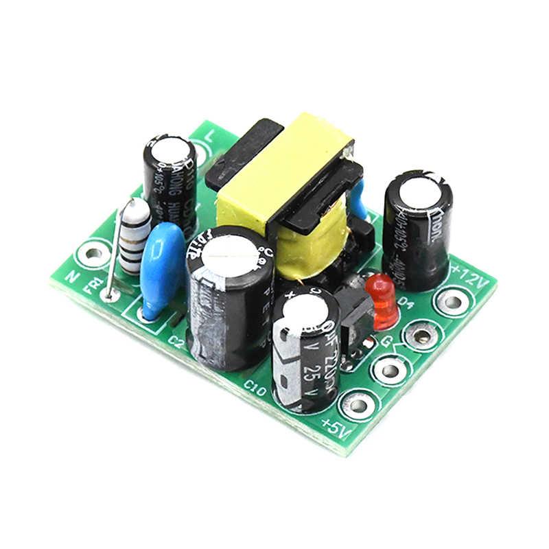 1pc nouveau Mini convertisseur de AC-DC chaud AC 110V 220V à DC 12V 0.2A + 5V Module conseil en gros