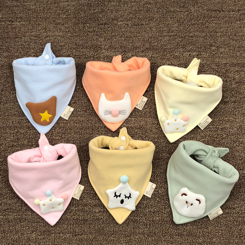 Baby Bibs Bandana Lot 100% Cotton High Quality Babadores Para Bebe Infant Saliva Towel For Boys And Girls