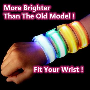 Outdoor Sport Night Running Armband Led Light Safety Belt Arm Leg Warning Wristband Cycling Bike Bicycle Party Creative Supplies