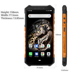 "Image 4 - Ulefone שריון X3 מחוספס Smartphone אנדרואיד 9.0 IP68 אנדרואיד 5.5 ""2GB 32GB 5000mAh 3G מחוספס טלפון סלולרי נייד טלפון אנדרואיד"