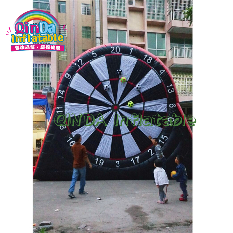 Adult Inflatable Sport Games Attractive Inflatable Soccer Dart , Outdoor Target Game , Inflatable Soccer Target For Sale