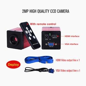 Image 4 - Profesjonalne laboratorium biologiczne HD trinokularnej mikroskop zoom 2500X + 16MP elektroniczny cyfrowy USB HDMI VAG + 10 cal LCD led