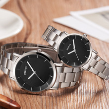 часы мужские 2019 New Fashion Leather Lover's Watches Simple