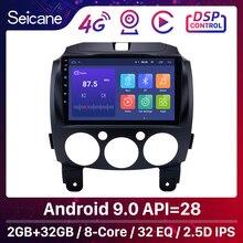 """ซีเทอร์Android 9.0 สำหรับMAZDA 2/Jinxiang/DE/Third Generation 2007 2013 2014 รถวิทยุGPS 9 """"2Dinหน่วยมัลติมีเดีย 3G Wifi"""