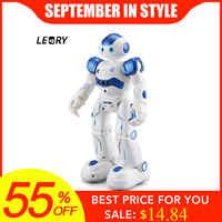 LEORY RC Robot Intelligent programmation télécommande Robotica jouet Biped humanoïde Robot pour enfants enfants cadeau d'anniversaire présent