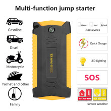 Universal Jump Starter Real 18000mAh Emergency Power Bank 12V 4USB 600A Car Battery Jump Starter Booster Vehicle Starting Device стоимость
