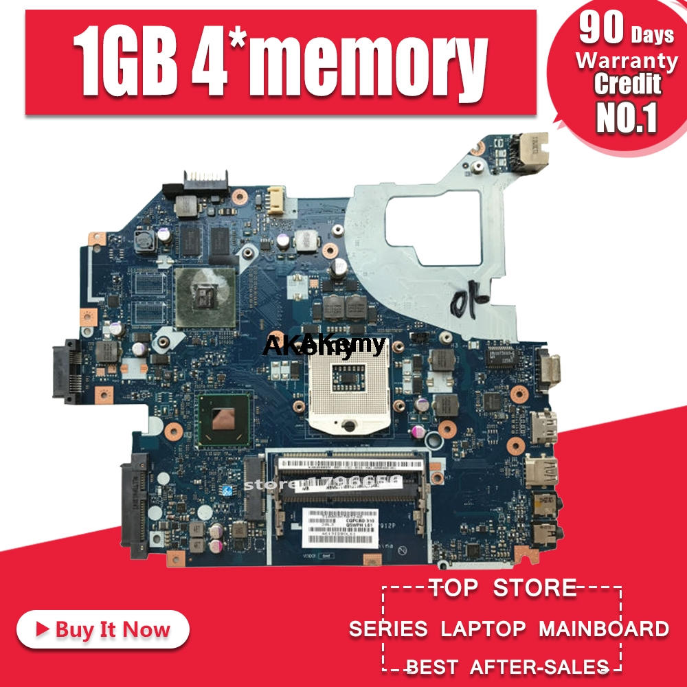 Q5WV1 LA-7912P Motherboard For ACER V3-571 E1-571 V3-531 E1-531 Notebook Motherboard PGA989 1GB 4*memory 100% Test OK...
