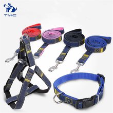 High Quality Dog Collar Pet Leash Dogs Harness Teddy Husky Poodle Supplies Small Medium Large Adjustable