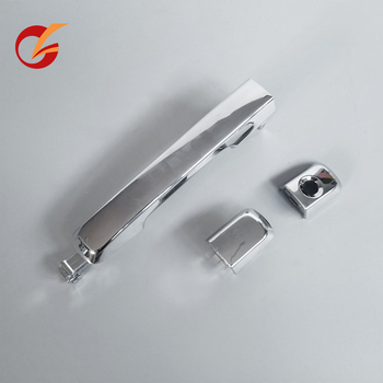 use for isuzu pickup D-max 2012 2013 2014 2015 outside door handle front and rear image