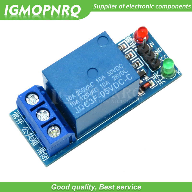 1pcs 1 Channel 5V low level trigger One 1 Channel Relay Module interface Board Shield For PIC AVR DSP ARM MCU Arduino