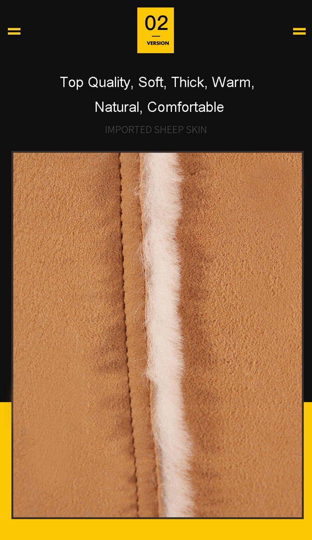 H045589ef59b544cb8a9076ae374d78878 Men Luxury Fur Shearling Coat Yellow Soft Thicken Fur Coat Winter Male Formal Business Fur Sheepskin Jackets