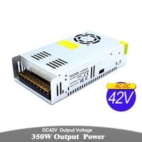 Universal DC Power Supply 42V 8.3A 350W Driver Transformer AC To DC42V Power Adapter For Lighting Stepper Motor CNC Router CCTV