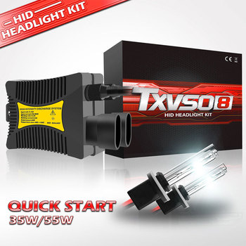 H7 35W Xenon Bulbs Car Flashing HID Bulb H4 H1 H3 H8 H9 H13 H16 6000K 8000K 10000K 12000K Headlight Lamp 12V Auto Xenon Hid Kit hid xenon kit h4 conversion kit h1 h3 h4 1 h7 h8 h9 h10 h11 single beam 35w 1set 12v xenon hid kit