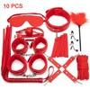 10 Red BDSM Kits