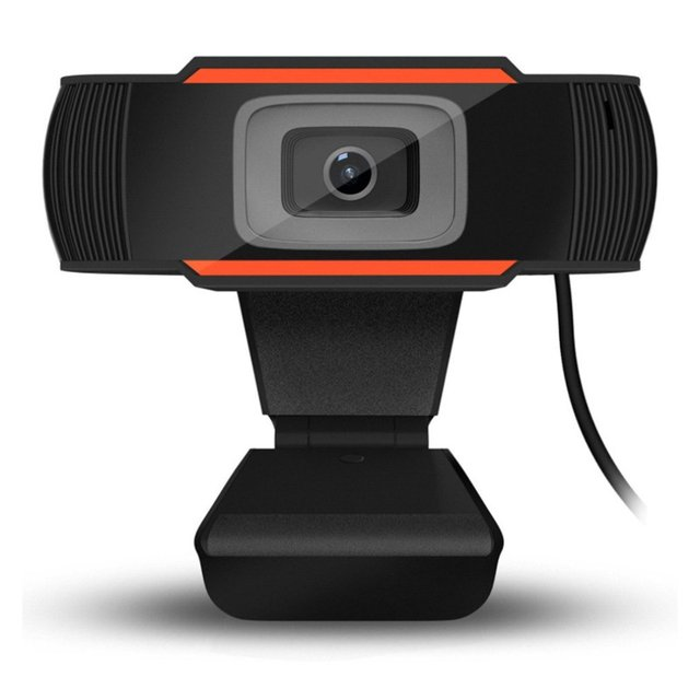 Hot Sale 30 degrees rotatable 2.0 HD Webcam 1080p USB Camera Video Recording Web Camera with Microphone For PC Computer 2