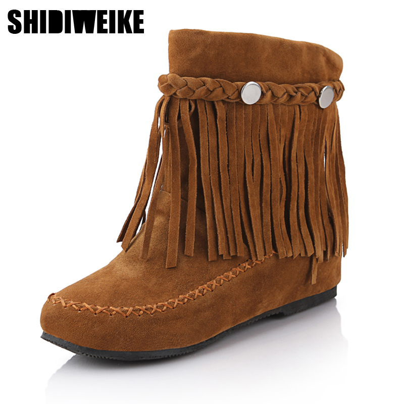 beige tassle romany ankle boot  all sizes Girls leather  tan