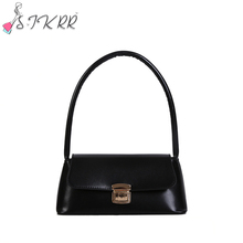 S,IKRR Women Bag Small Messenger Bags Lady Shouder Bag Hobos Bags Crossbody Tote Bag Females Handbag sac a main 2020 aitesen 2017 pu leather shell bags hobos woman small handbag michael luxury lady solid crossbody bag bolsa feminina sac a main