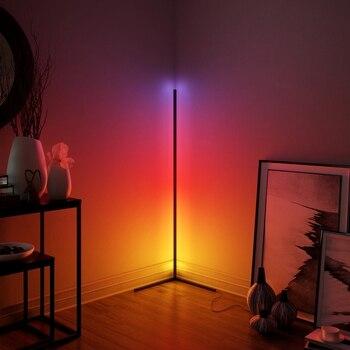 Modern LED Corner Floor Lamp