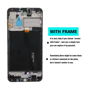 "Image 4 - 6.2"" Original LCD For Samsung Galaxy A10 A105 A105F SM A105F LCD Display Screen replacement Digitizer Assembly+service package"
