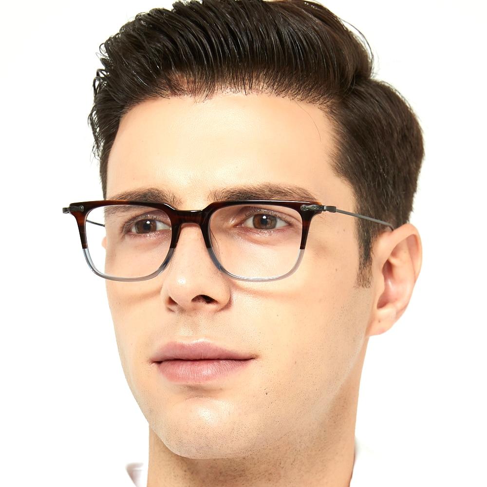 Fashion Optical Glasses Frame Men Women Computer Reading Eyeglasses Myopia  Prescription Brand Design Square Spectacles|Men's Eyewear Frames| -  AliExpress