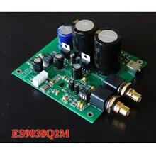 hifi decoder board ES9038Q2M ES9038 I2S input decoder board