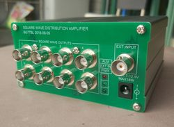 By BG7TBL 1PPS Distributor Square Wave Amplifier 8 Channel Output Trig Signal Distributor