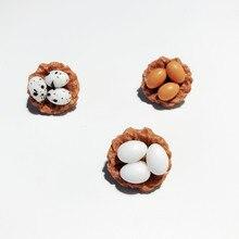 Японская Корейская забавная Птичье гнездо яйцо крутая брошь мультфильм Милая универсальная нашивка сумка аксессуары