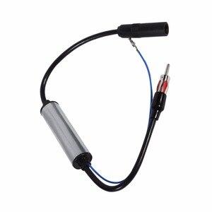 Автомобильная антенна вилка радио FM встроенный Усилитель сигнала Усилитель удлинитель FM антенна усилитель Сигнала Антенна усилитель сигнала
