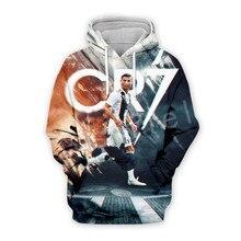 Tessffel Cristiano Ronaldo Athletes Tracksuit 3DfullPrint Hoodie/Sweatshirt/Jacket/shirts Mens Womens hiphop fit casual style-18