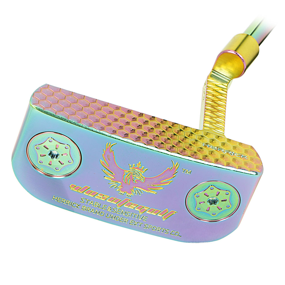 Golf clubs Putter  Colorful putter with Steel Material Men's33/34/35inch distribution headcover Three more preferential-in Golf Clubs from Sports & Entertainment