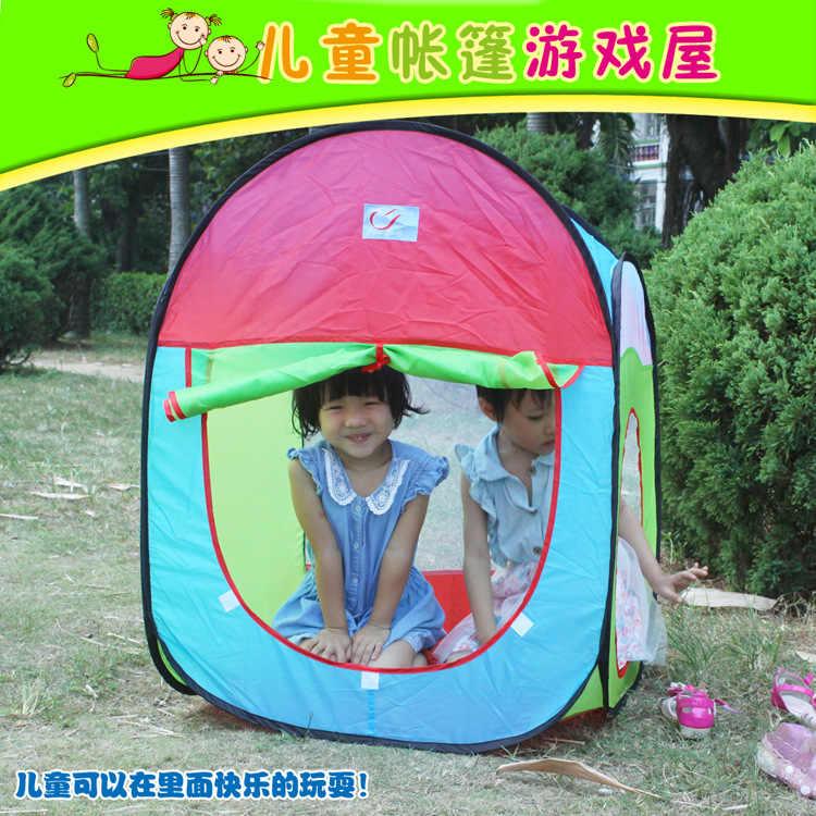 Crianças tenda jogo casa túnel três-em-um conjunto brinquedo para crianças