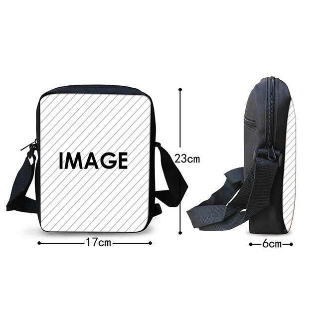 HaoYun 女性のメッセンジャーバッグ曲げやすいとインク機パターン Chidren のショルダーバッグ漫画デザインティーンエイジャーミニフラップバッグ
