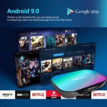 ТВ приставка hk1box 4 + 128 ГБ 8k amlogic s905x3 android 90