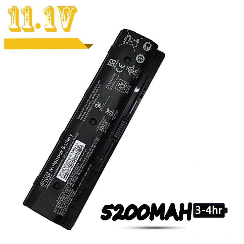 PI06 Laptop Battery For HP Envy 15 15t 15z Envy 15 15t 15z Envy 17 17t 17z TouchSmart 17 17t 17z Envy 17 M7 M7t M7z Battery PI09