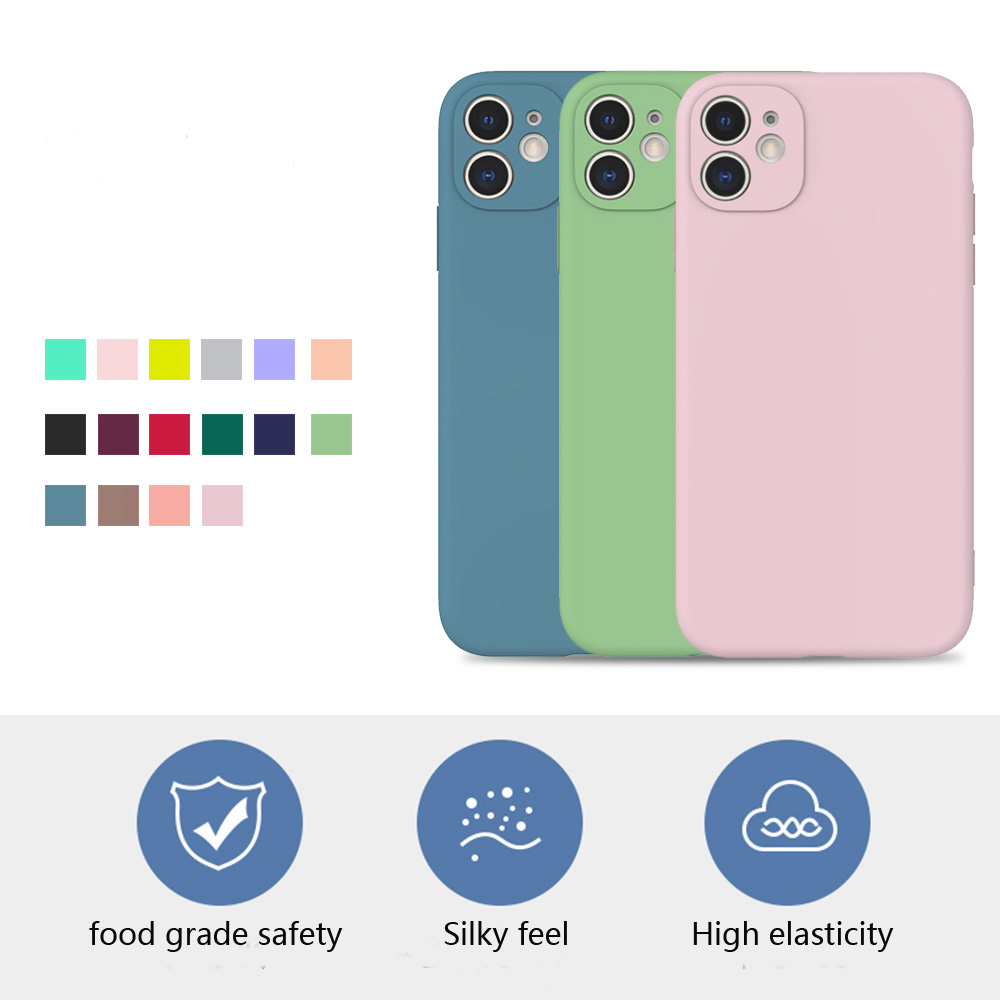 Fashion Soft Silicone Candy Pudding Cover For iPhone 11 Pro Max 8 7Plus 6 6S X Xr Xs Max Case Flexible Gel Phone Protector case