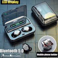 Bluetooth Kopfhörer TWS Drahtlose Kopfhörer mit Mikrofon Noise Cancelling Wireless Ohrhörer Headset Bluetooth Ohrstöpsel für xiaomi