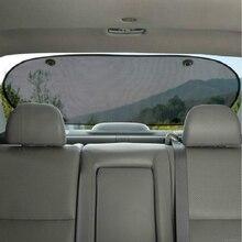 Car Rear Shade Mesh Sunshade Screen Heat Insulation Sun Shade Shield Visor Protection Back Car Window Protector